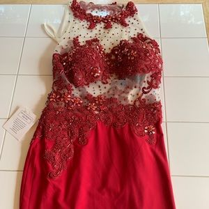 A cocktail/prom dress!